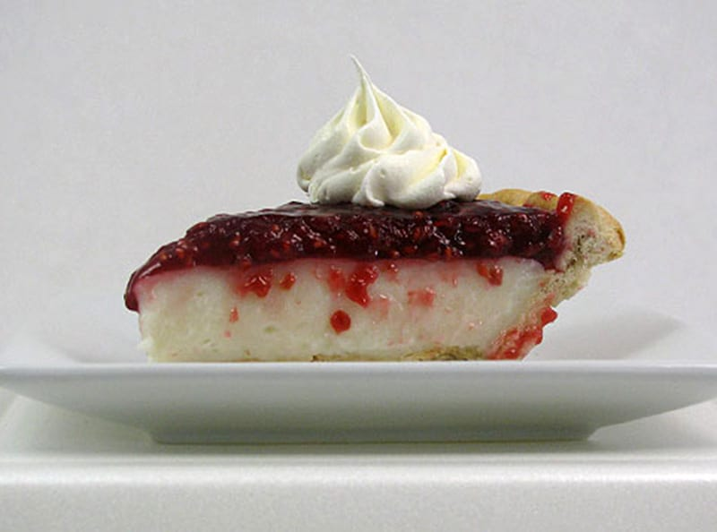 Rasberry Cream Pie